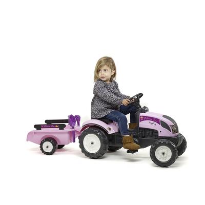 2056C_falk_tracteur_princesse_trac_remorque_pelle_rateau_