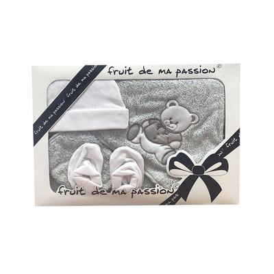fruit_de_ma_passion_tojb001_parrure_bain_gris_nounours_4_pieces_2
