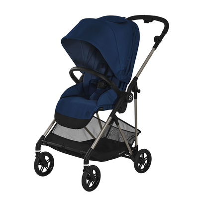 Poussette Buggy Cybex Melio - Taupe Navy Blue