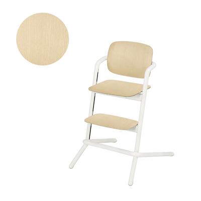 Chaise haute Cybex Lemo bois - Porcelaine White