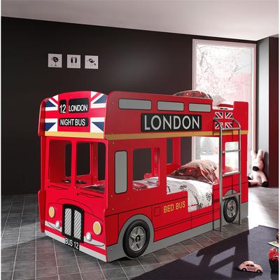 Vipack_carbeds_lit_superposé_90_x_200_bus_londonien_ambiance
