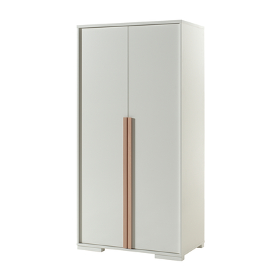 Armoire 2 portes Vipack London - Blanc