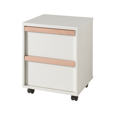 Caisson de bureau Vipack London - Blanc