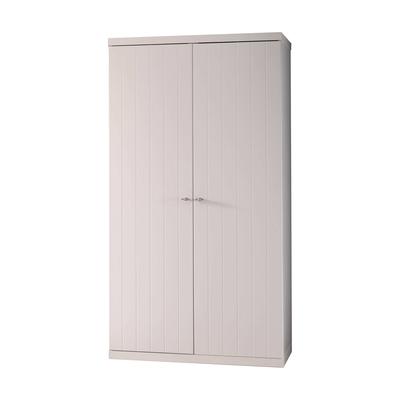 Armoire 2 portes Vipack Robin - Blanc