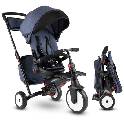 Tricycle Smartrike pliable évolutif 7en1 - STR7 Vibe Jeans