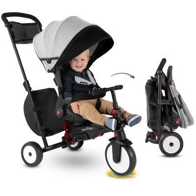 Tricycle Smartrike pliable évolutif 7en1 - STR7 Vibe Gris