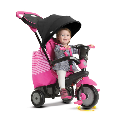 Tricycle Smartrike 4en1 - Swing Rose