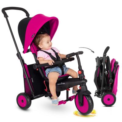 Tricycle Smartrike pliable évolutif 6en1 - STR3 Rose