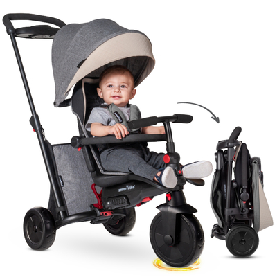 Tricycle Smartrike pliable évolutif 7en1 - SmarTfold 600S Gris