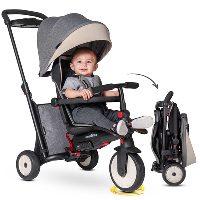 Tricycle Smartrike pliable évolutif 7en1 - STR5 Gris