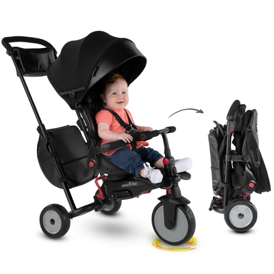 Tricycle Smartrike pliable évolutif 7en1 - STR7 Noir