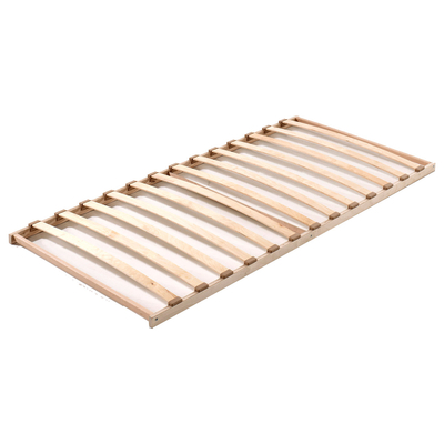 Sommier cadre 90x200 13 lattes Vipack Extra - Bois