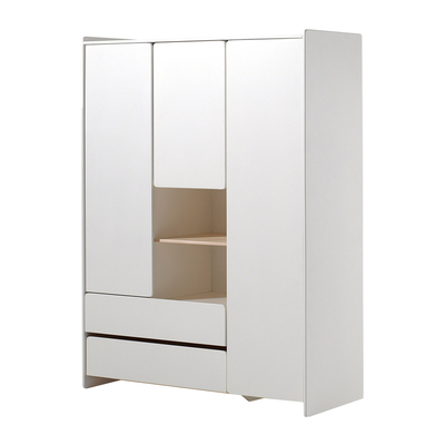 Armoire 3 portes Vipack Kiddy - Blanc