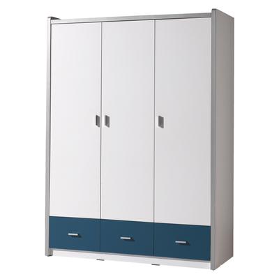 Armoire 3 portes Vipack Bonny - Bleu
