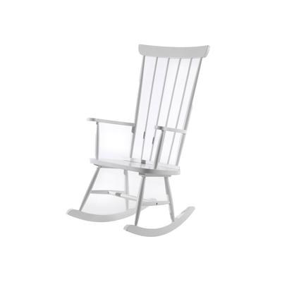 Chaise à bascule Vipack Rocky - Blanc