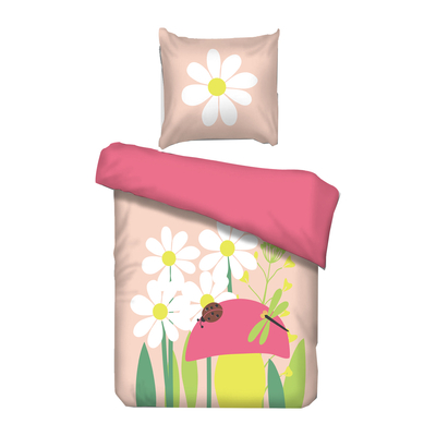Housse de couette Spring 90x200 Vipack Bedcovers - Rose