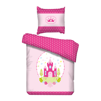 Housse de couette Princesse 90x200 Vipack Bedcovers - Rose