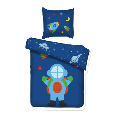 Housse de couette Astro 90x200 Vipack Bedcovers - Bleu