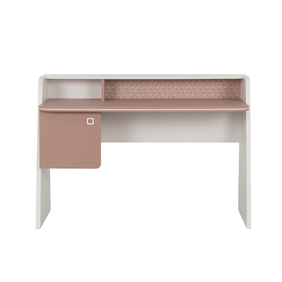 Bureau 1 porte Gami April - Rose