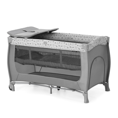 Lit Parapluie Hauck Sleep and Play Center - Nordic grey