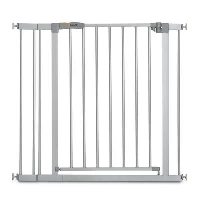 Barrière de sécurité Hauck Stop N Safe 2 + extension 9 cm - Gris