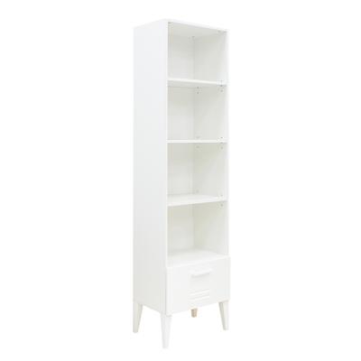 Bibliothèque 1 tiroir Bopita Locker - Blanc