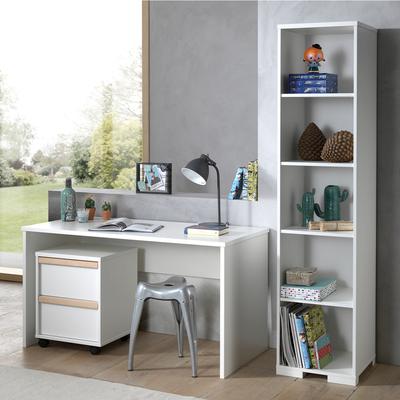 Bureau - Caisson de bureau et Bibliothèque Vipack London - Blanc