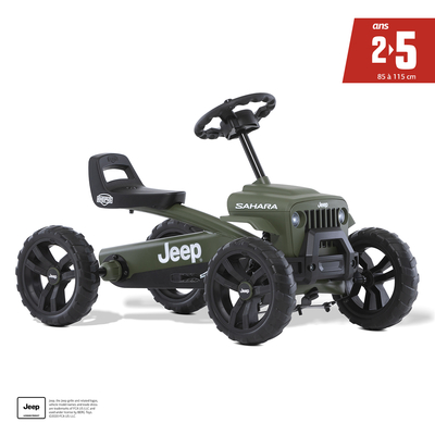 Kart à pédales Jeep Buzzy Sahara - De 2 à 5 ans