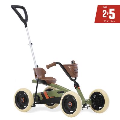 Kart à pédales Berg Buzzy Retro 2in1 Vert - De 2 à 5 ans
