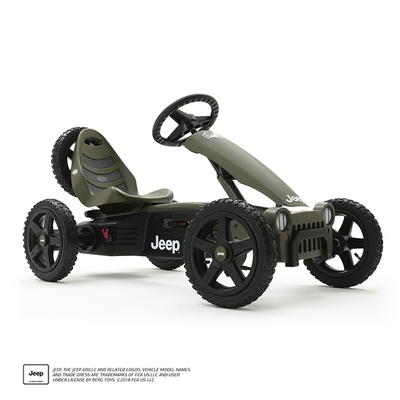 Jeep Adventure pedal go-kart right side-2