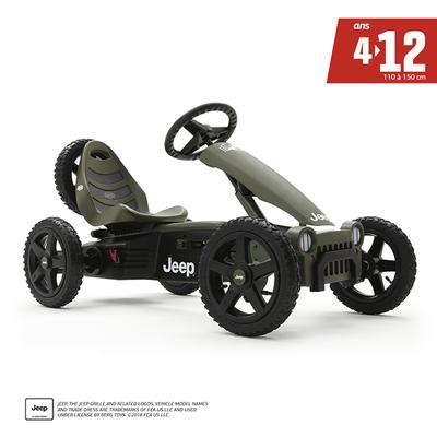 Kart à pédales Jeep Adventure - De 4 à 12 ans