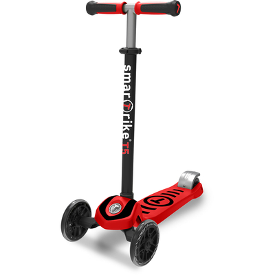 Trottinette 3 roues Smartrike - scooTer T5 Rouge