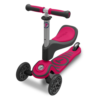 Trottinette 3 roues évolutive Smartrike - scooTer T1 Rose