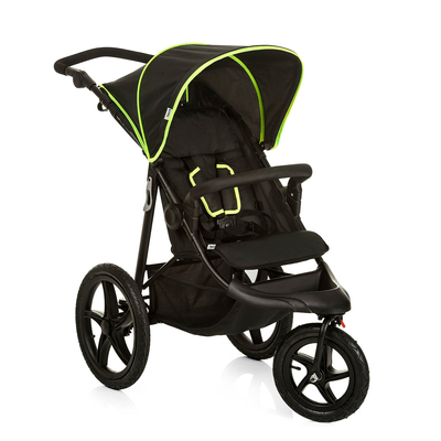 Poussette Buggy Hauck Runner - Black Neon Yellow