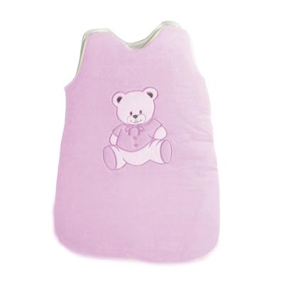 Gigoteuse pour bébé 0 à 6 Mois rose - Motif Nounours