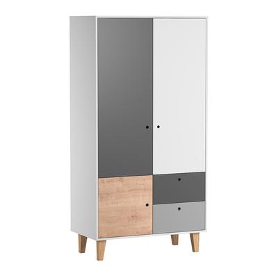 Armoire 2 portes Vox Concept - Bois