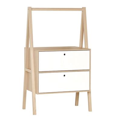 Commode 2 tiroirs Vox Spot - Blanc