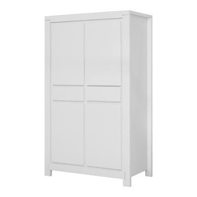 Armoire 2 portes Twf Malibu - Blanc