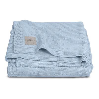 Couverture bébé Jollein 75x100cm Soft Knit - Bleu