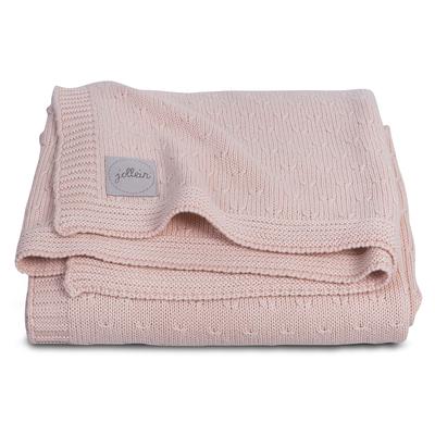 Couverture bébé Jollein 75x100cm Soft Knit - Pêche