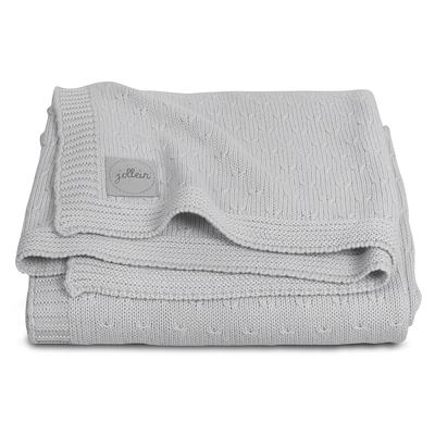 Couverture bébé Jollein 100x150cm Soft Knit - Gris
