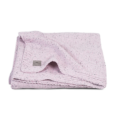 Couverture bébé Jollein 75x100cm Confetti Knit - Rose