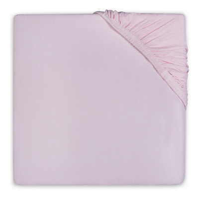 Drap housse en coton Jollein 40x80cm - Rose