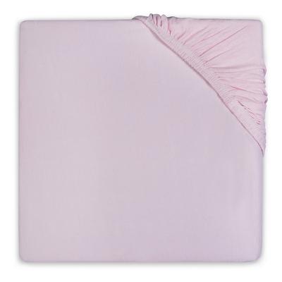 Drap housse en coton Jollein 75x150cm - Rose