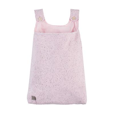 Vide-poches en tricot Jollein Confetti Knit - Rose
