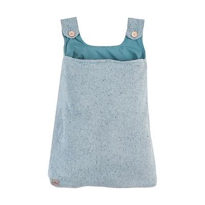 Vide-poches en tricot Jollein Confetti Knit - Vert d'eau