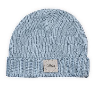 Bonnet pour bébé 9 à 18 Mois Jollein Soft Knit - Bleu