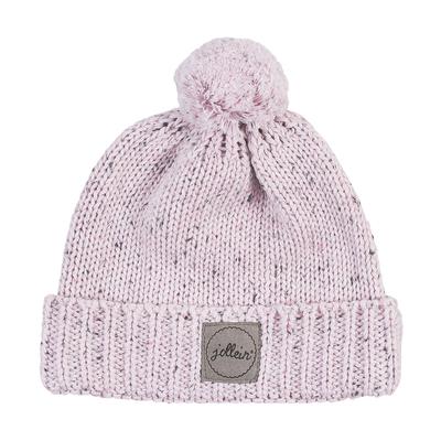 Bonnet pour bébé 9 à 18 Mois Jollein Confetti Knit - Rose