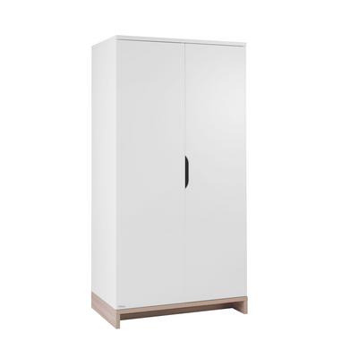 Armoire 2 portes Galipette Lilo - Blanc bois
