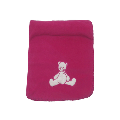 Couverture polaire King Bear Classic - Bordeaux